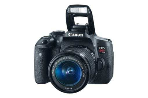 Canon EOS Rebel T6i EF-S 18-55mm IS STM Lens Kit