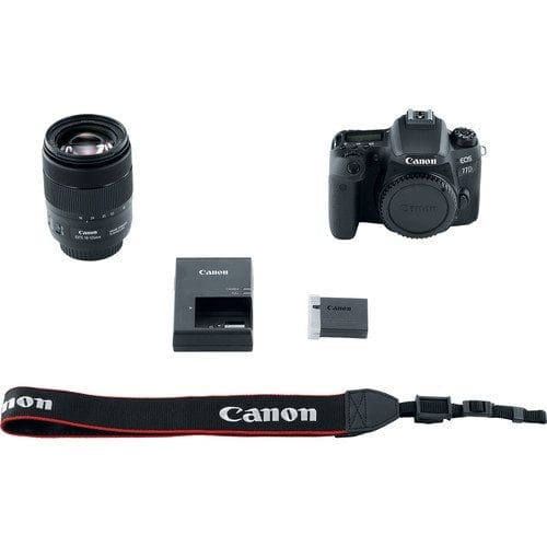 Canon EOS 77D 24.2MP Digital SLR Camera 18-135mm USM Lens with Built-In Wi-Fi