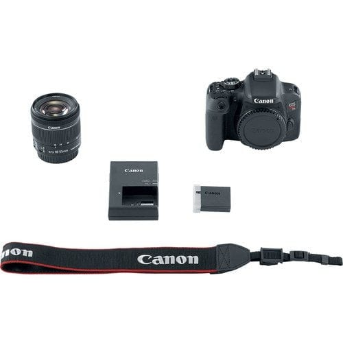 Canon EOS Rebel T7i 24.2MP DSLR Camera with 18-55mm Lens Video Creator Kit
