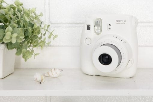 Fujifilm Instax Mini 8 Instant Film Camera (White)