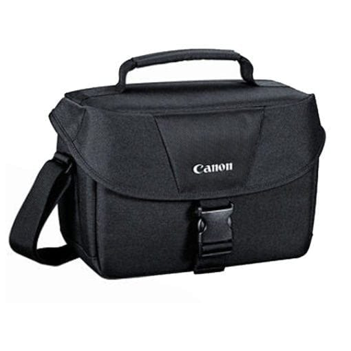 Canon Genuine Padded Starter Digital SLR Camera Lens Shoulder Bag Case Gadget EOS   Cleaning Cloth and Camera & Lens 5 Piece Cleaning Kit