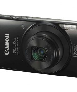 Canon PowerShot ELPH 190 IS with 10x Optical Zoom and Built-In Wi-Fi (Black)