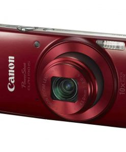 Canon PowerShot ELPH 190 IS with 10x Optical Zoom and Built-In Wi-Fi (Red)
