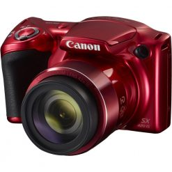 Canon PowerShot SX420 IS with 42x Optical Zoom and Built-In Wi-Fi (Red)