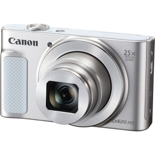 Canon PowerShot SX620 Digital Camera w/25x Optical Zoom – Wi-Fi & NFC Enabled (Silver)