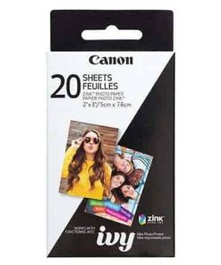 "Canon 2 x 3"" ZINK Photo Paper Pack, 20 sheets"