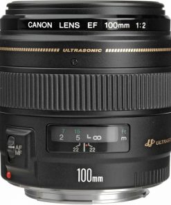 Canon EF 100mm f/2 USM Telephoto Lens for Canon SLR Cameras