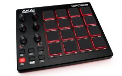 Akai Professional MPD218 | MIDI Drum Pad Controller with Software Download Package (16 pads / 6 knobs / 6 buttons)