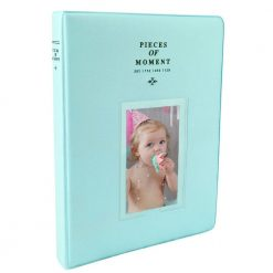 Xit Photo Album for Fuji Instax Prints Holds 128 Photos Turquoise XTFA128TQ