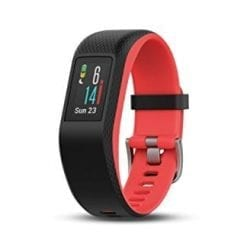 Garmin VivoSport Touch GPS Smart Activity Tracker Fitness Band (Small, Fuchsia) Refurbished