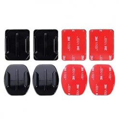 Xit Adhesive Mount For GoPro - (4 mounts & 4 stickers)