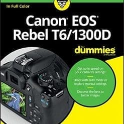 For Dummies Book on Canon EOS Rebel T6/1300D