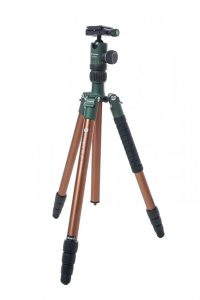 Fotopro X-Go Chameleon Tripod Kit-bronze with green matte