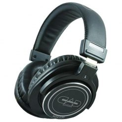 Cad Audio Closed-back Studio Headphones - 45mm Drivers - Black
