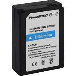 Power2000 BP-1030 Samsung Replacement 7.4v, 1200mAh Lithium Ion Battery