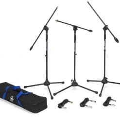 Samson Boom Stand & Cable (3-Pack) BL3VP