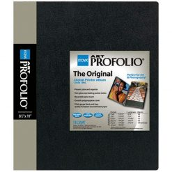 Itoya Archival Art Profolio Presentation Book - 48 - 8.5 x 11 Inches Pocket Pages, 96 Views IA-12-8-48