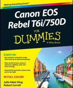 For Dummies Book on Canon EOS Rebel T6i / 750D (Computer/Tech)