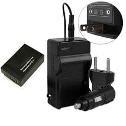 1 Battery 1400mAh & Charger for Canon LP-E17 EOS Rebel T6i, EOS Rebel T6s, EOS 750D, EOS 760D, EOS 8000D, Kiss X8i