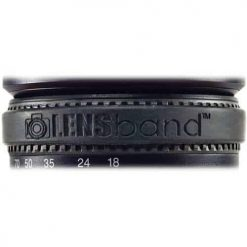 Lens Band Stop Zoom Creep for One Size Fits All Lens (Black)