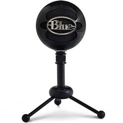 Blue Snowball USB Condenser Microphone Black
