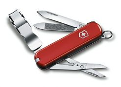 Victorinox Swiss Army Nail Clip 580 Swiss Army Knife, Red