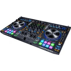 Denon DJ MC7000 | Premium 4-Channel DJ Controller & Mixer with Dual USB Audio Interfaces and full Serato DJ download