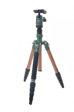 FotoPro X-Go Gecko Tripod Kit, Brown with Matte Green