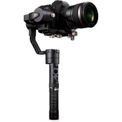 Zhiyun-Tech Crane Plus Professional 3-Axis Handheld Gimbal Stabilizer with POV and Motion Time Lapse for DSLR Cameras up to 5.5 lb.