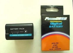 Power2000 BP-U60 Replacement Lithium-Ion 14.4v, 58Wh Camcorder Battery for Sony Camcorders