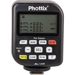 Phottix Odin TTL Flash Trigger V1.5 Transmitter for Canon Camera, 2.4GHz Frequency