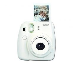 Fujifilm Instax Mini 8 Instant Film Camera (White) (Certified Refurbished)