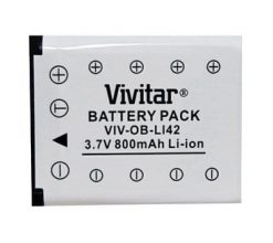 Vivitar Battery for Fuji NP45 & Olympus Li42