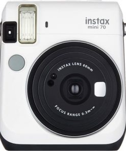 Fujifilm Instax Mini 70 - White Instant Film Camera (White)