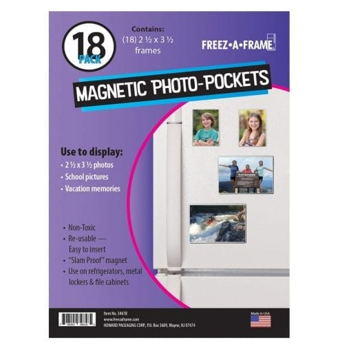 Photo4less Freez A Frame Clear Magnetic Photo Frames 25 X 35