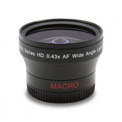 Ultimax 52mm 0.43x Professional Wide Angle Lens With Macro