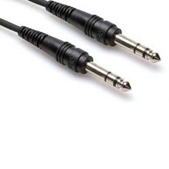 Hosa CSS-110 1/4 inch TRS Balanced Interconnect Cable, 10 feet