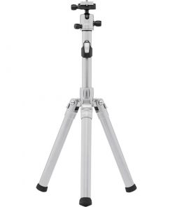 MeFOTO GlobeTrotter Air Tripod and Selfie Stick in One Kit - Titanium (GTAIRTTN)