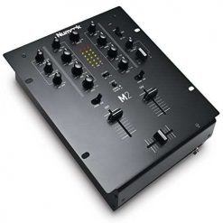 Numark M2BLACK | Professional Two-Channel Scratch Mixer with 3-band EQ per Channel