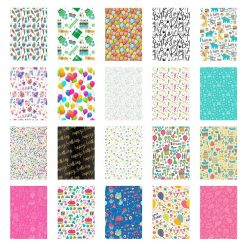 20 Sticker Frames for Fuji Instax Prints Birthday Package XTFSTICK20BD