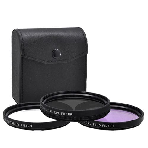 Xit 77mm 3-Piece Multi Coated Glass Filter Kit UV, CP & FLD Filter