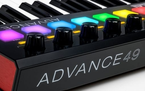 Akai Professional Advance 49   49-Key Virtual Instrument Production Controller with Full-Color LCD Screen & 10K Sounds Download