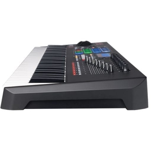 Akai Professional MPK261 | 61-Key USB MIDI Keyboard & Drum Pad Controller with LCD Screen (16 Pads/8 Knobs/8 Faders), VIP Software Download Included
