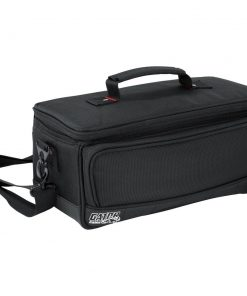 """Gator GMIXERBAG1306 Padded Nylon Bag Custom Fit for the Behringer X-AIR series Mixers; 13.1"""" X 6.25"""" X 6"""""""