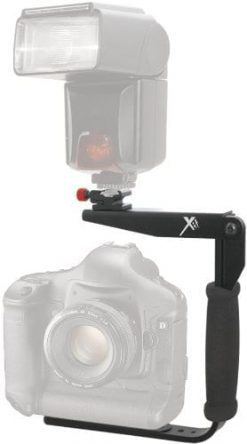 Xit XTRTFB 180 Degree Quick Flip rotating Flash Bracket (Black)