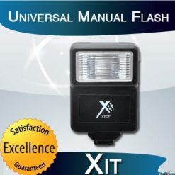 Xit XTCF1 Universal Manual Flash (Black)