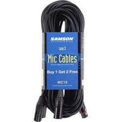 Samson 18' Mic Cable (3 pack) MC18