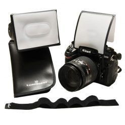 LumiQuest LQ-145 Mini Kit: with SoftScreen, Mini SoftBox, & UltraStrap