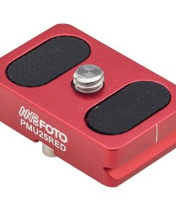MeFOTO BackPacker Air Camera Plate - Red (PMU25RED)