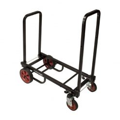 Ultimate Support JS-KC80 JamStands Series Karma Cart Adjustable Professional Equipment Cart - Small Size